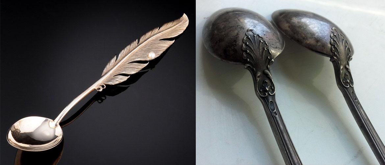 Польза серебряной ложки