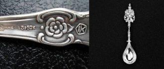 Оригинальная методика по различению серебряной ложки от мельхиоровой