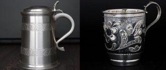 Особенности олова и серебра – как различить металлы?